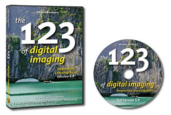 CD-ROM: The 123 Of Digital Imaging for Nikon D3000