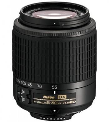 Nikon Telephoto Zoom 55-200mm AF-S DX VR IF-ED Zoom-Nikkor Lens