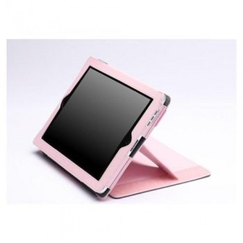 ZooGue iPad 2 Case Genius Pink Leather