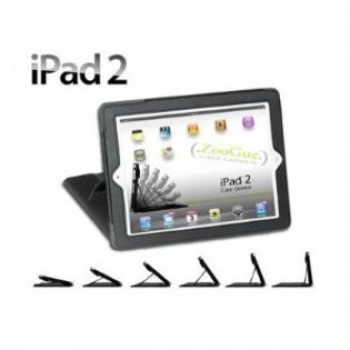 ZooGue iPad 2 Case Genius Black Leather