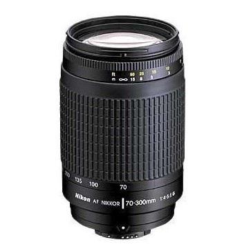 Nikon 70-300mm f/4-5.6G AF Telephoto Zoom-Nikkor Lens