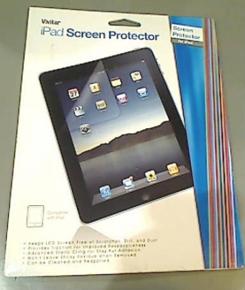 Clear Screen Protector For iPad
