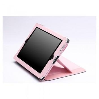 ZooGue iPad 2 Case Genius Pink Leather