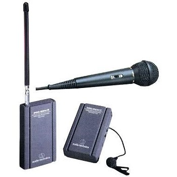 Wireless Microphone System for Sony NEX-VG20