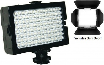 162 Pin Ultra Bright LED Video Light with Diffuser