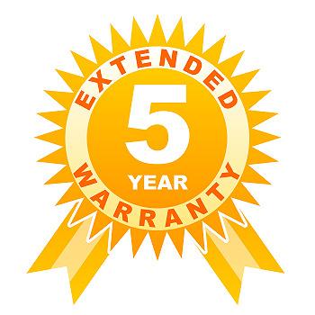 5 Year Extended Warranty