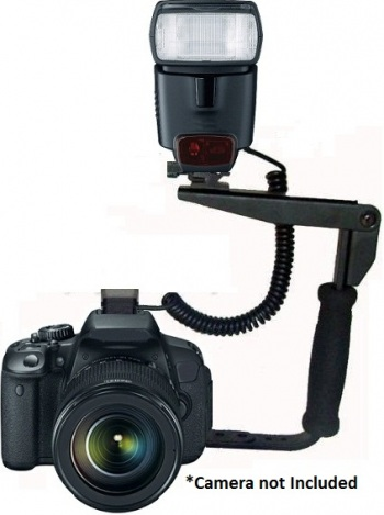 Pro Combo Flash Kit with Bracket and Shoe Cord
