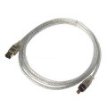 FireWire 4-pin to 6-pin DV Cable for Sony HDR-PJ650