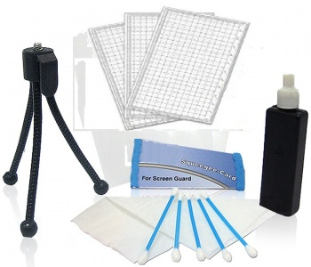 Lens Cleaning Kit with Screen Protectors HDFX