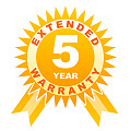5 year warranty for cameras under 500