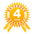 4 year warranty for audio under 250