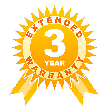 3 year warranty for other under 250