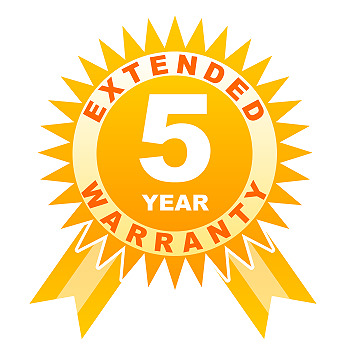 5 year warranty for other under 250