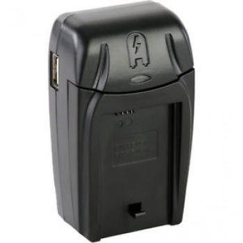 HDFX Compact A/C D/C Charger For EN-EL14/EN-EL14A Batteries