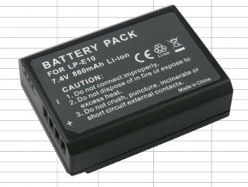 HDFX 2 Hour LP-E10 Battery
