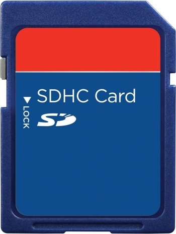 HDFX 4 GB SDHC SD Card