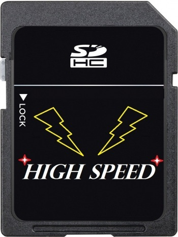 HDFX 8 GB Ultra High Speed SDHC SD Card