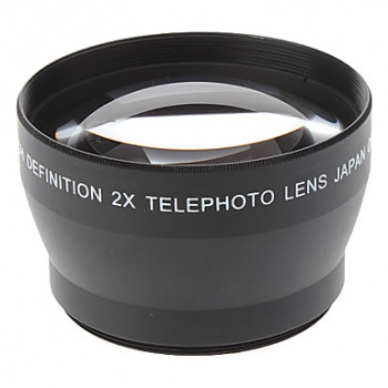 HDFX 2X Telephoto Lens 72mm