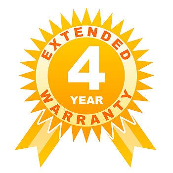 4 year warranty for lenses under 10000