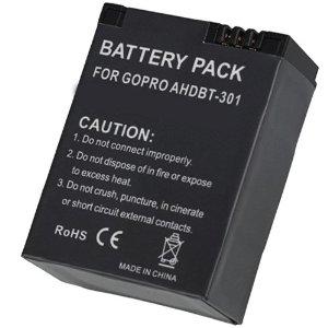 HDFX 2 Hour AHDBT-301 Battery for GoPro Hero3/3+