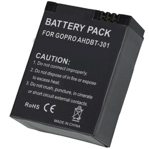 HDFX 4 Hour AHDBT-301 Battery for GoPro Hero3/3+
