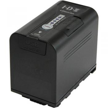 IDX 8 Hour VBD64 6400mAH Battery For Panasonic DVX Camcorders