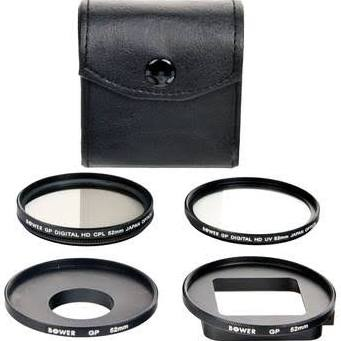 HDFX 5 Piece GoPro Filter Kit