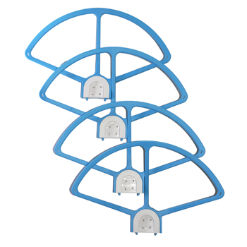 Ultimaxx Quick Release Propeller Guards for Phantom 3  (Blue)