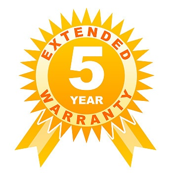 5 year warranty for cameras under �1000