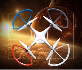 Ultimaxx Quick Release Propeller Guards for Phantom 4 (White)