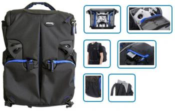 Ultimaxx Pro IV Weather Resistant Backpack fits Drones and Laptops