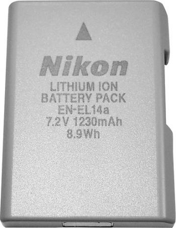 Original Nikon EN-EL14a Rechargeable Lithium-Ion Battery