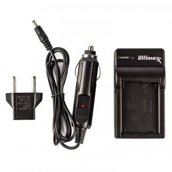 Ultimaxx AC/DC Rapid Home & Travel Charger for NP-BX1