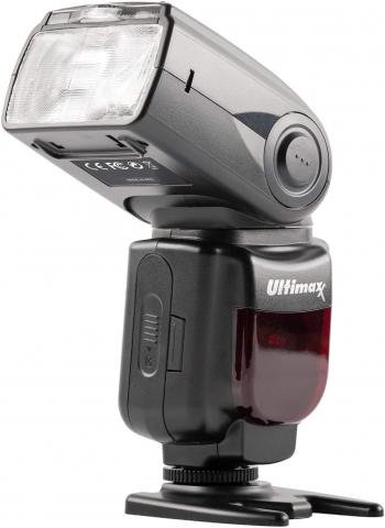 Ultimaxx TTL Dedicated Flash with LCD & Case for Nikon