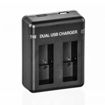 Ultimaxx Dual Battery Charger for GoPro HERO9 Black