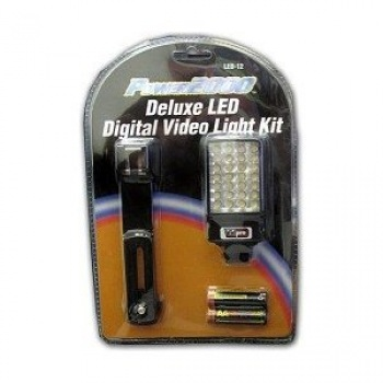 Power2000 Deluxe LED Digital Video Light Kit