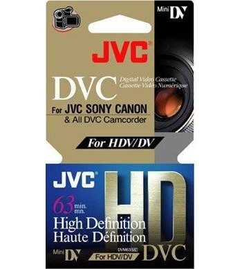 3 pack HD Mini DV Tapes for Sony HVR-A1E
