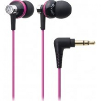 Audio-Technica ATH-CK303M In-Ear Headphones (Black Pink BPK)