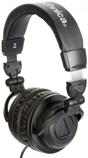 Audio Technica ATH Pro 500 Headphones (Black)