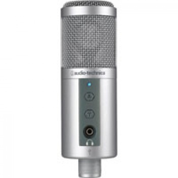Audio Technica ATR2500-USB Side Address Studio Condenser Microphone with USB Output
