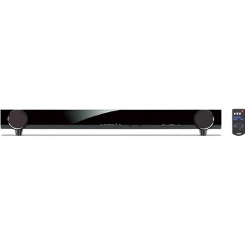 Yamaha YAS-101 Front Surround Soundbar Speaker System (Black)(YAS101)