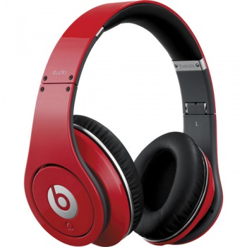 Beats by Dr. Dre Studio Over Ear Headphones with Control Talk - Red