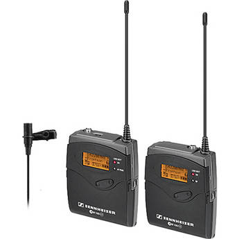 Sennheiser ew 112-p G3 Camera Mount Wireless Microphone System with ME2 Lavalier Mic - A (516-558 MHz)