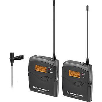 Sennheiser ew 112-p G3 Camera Mount Wireless Microphone System with ME