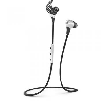 JayBird BlueBuds X Bluetooth Headphones (Storm White)