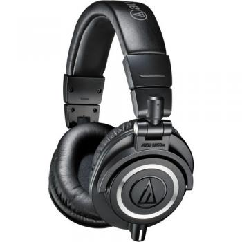 Audio-Technica ATH-M50x Monitor Headphones (Black)