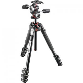 Manfrotto MK190XPRO4-3W Aluminum Tripod with 3-Way Pan/Tilt Head