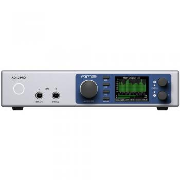 RME ADI-2 Pro Reference AD/DA Converter with Extreme Power Headphone A