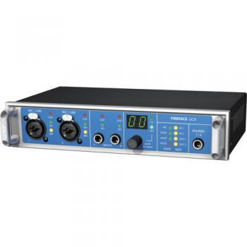 RME Fireface UCX - 36-Channel USB/FireWire Audio Interface