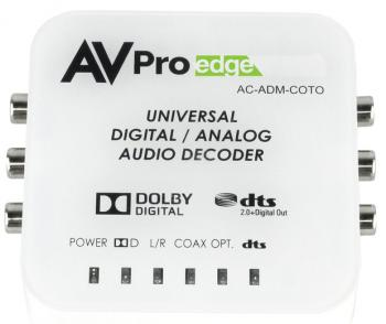AVPro Edge AC-ADM-COTO Universal Digital/Analog Audio Converter with Dolby Digital & DTS
